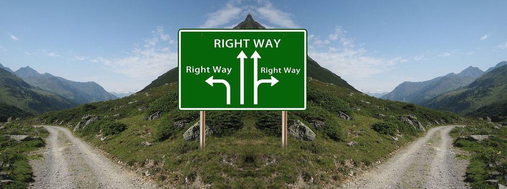 choix, route, chemin